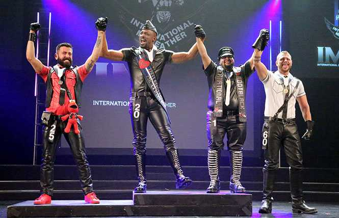 40 Years of Leather:  International Mr. Leather celebrates four decades
