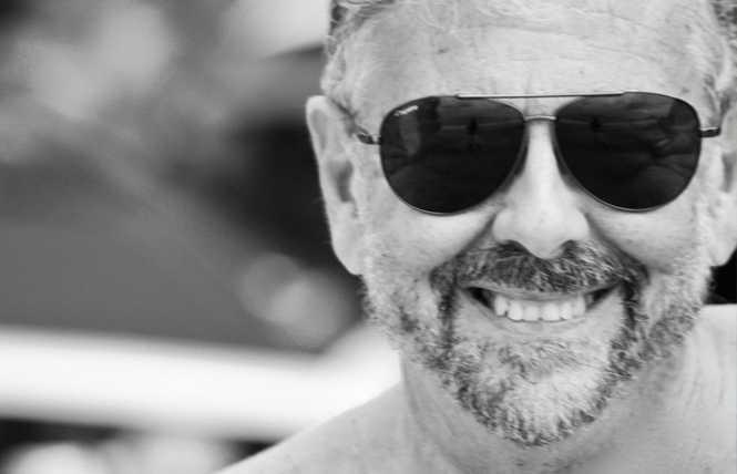 Gay park flagger dies
