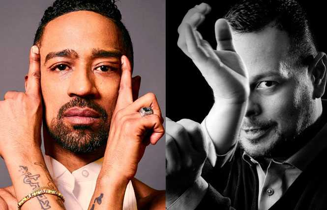 Xtravaganza Pride: Vogue icons and celebrity grand marshals Jose Gutierez and Luis Camacho