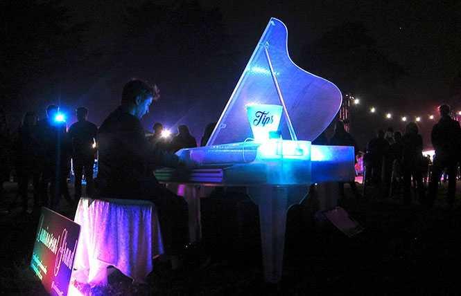 NightGarden Piano @ SF Botanical Garden
