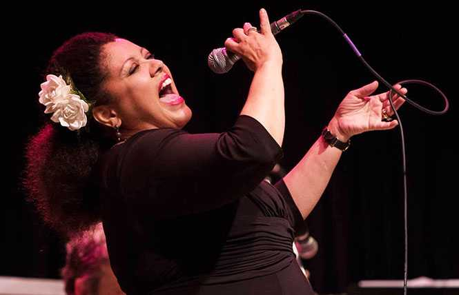 Kim Nalley: the acclaimed jazz vocalist's at Feinstein's