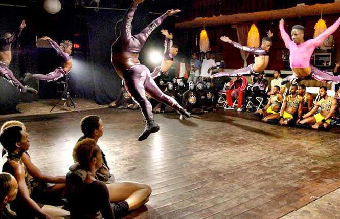 Underground gay dance movement