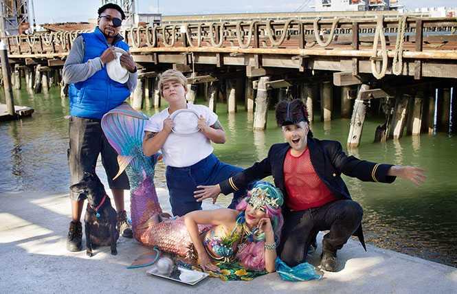 Kings at Sea: salty swaggering drag kings dock at Oasis