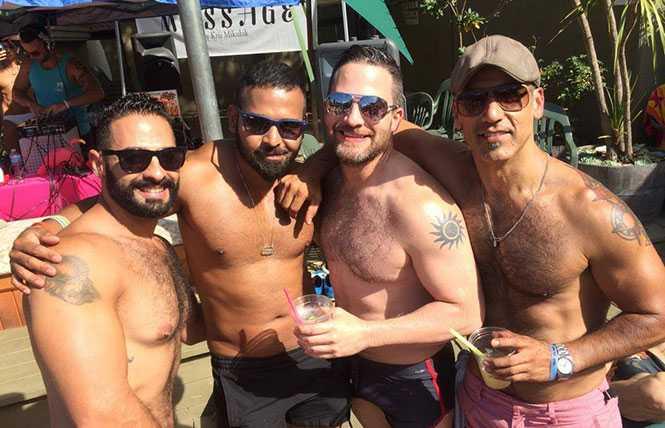 Pool party: River Raid's splash in Guerneville