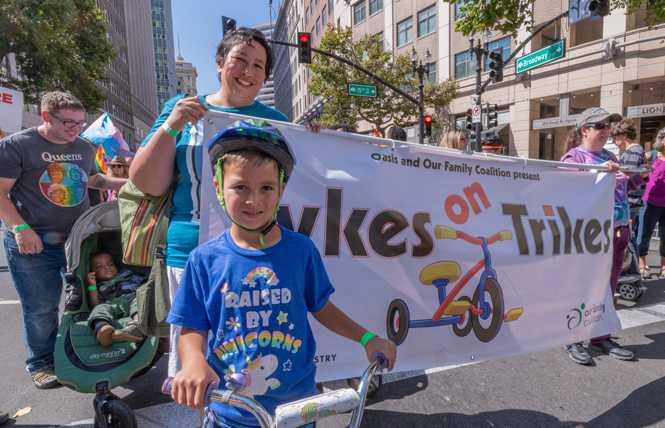 Kids rule at Oakland Pride