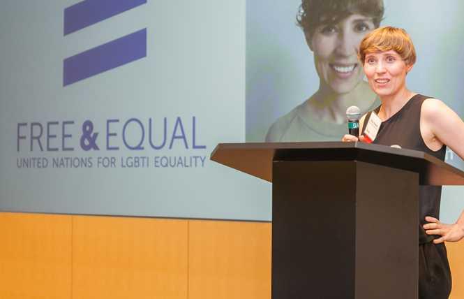 UN rep speaks to SF LGBT business leaders