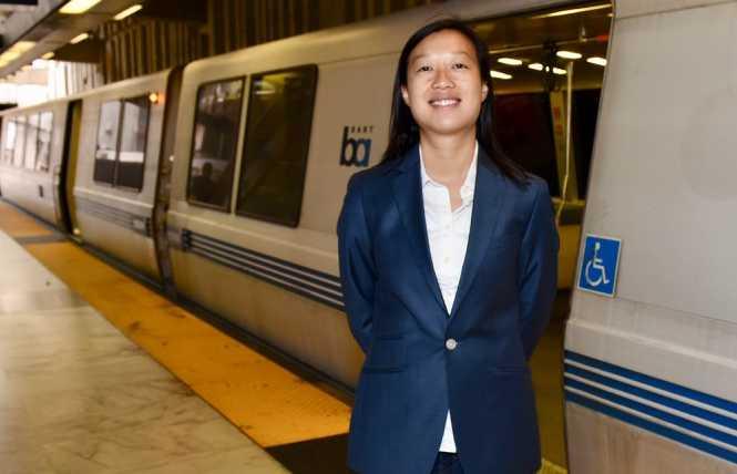 Li wins BART board seat