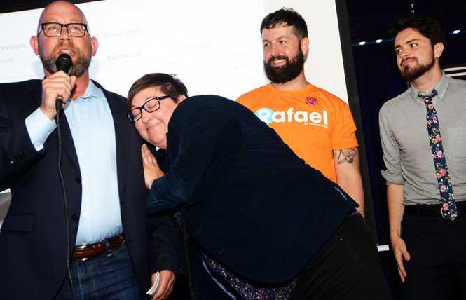 Gay SF supe Mandelman eyes board presidency position