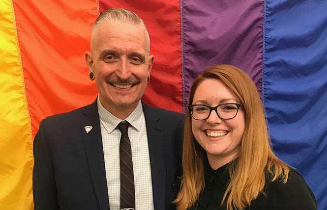 Bi woman elected SF Pride board prez