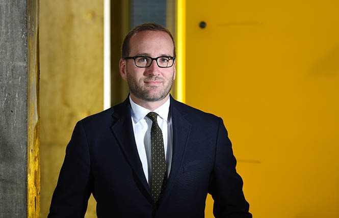 HRC president Chad Griffin announces departure