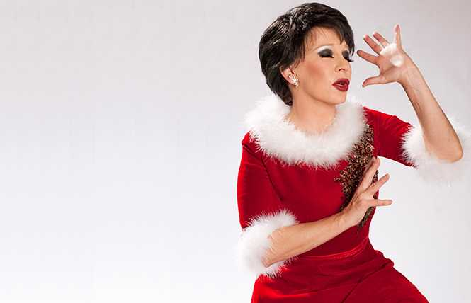 Connie Champagne - celebrated chanteuse's new Judy Garland holiday show