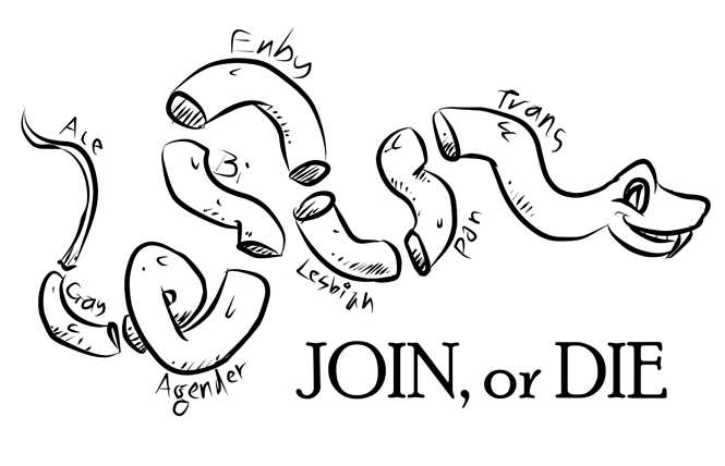 Transmissions: Join or die