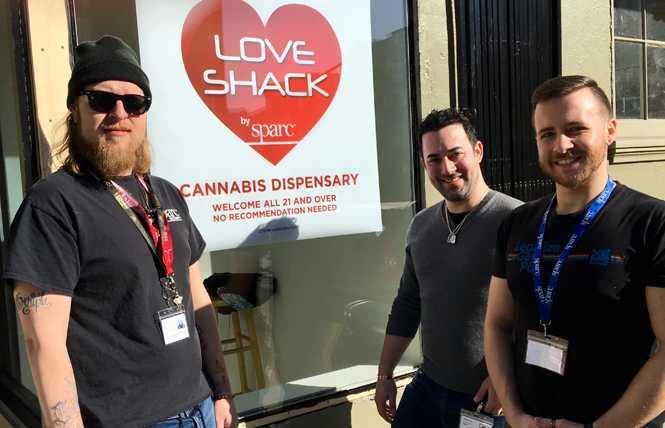Love Shack dispensary reopens