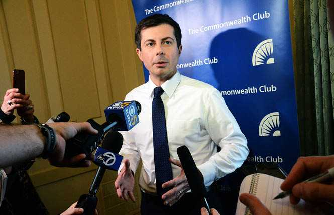 Online Extra: Political Notes: Buttigieg promises to make Equality Act law if president
