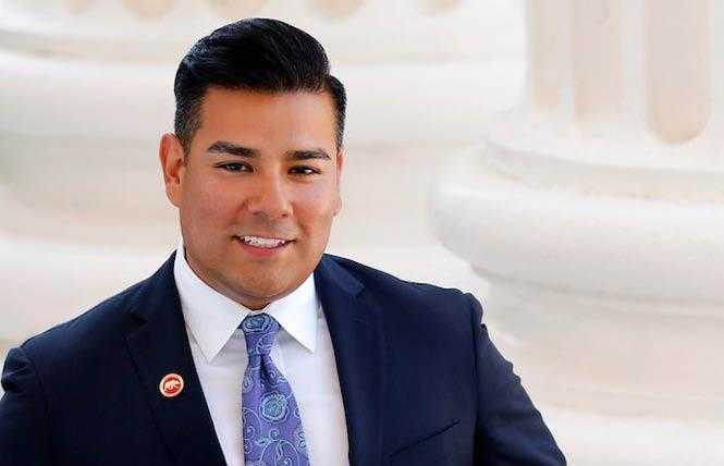 Online Extra: Political Notes: CA bill aims to boost insurance contracts for LGBT firms