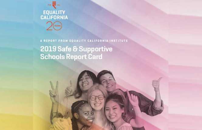 Updated: Report details CA schools failing LGBT students