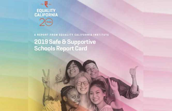 Updated: Report details CA schools failing LGBT students