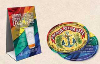 Steamin' with Pride - Anchor Brewing Company raises $ for SF LGBT Center