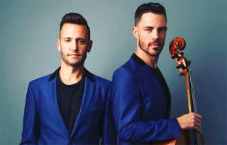 Branden and James: Classical crossover partners, on- and off-stage