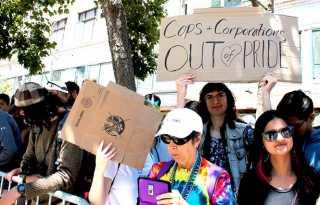Protesters delay SF Pride parade