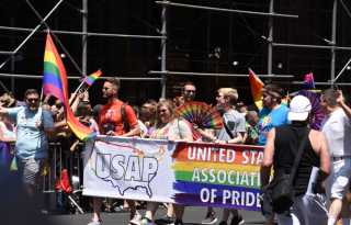 Massive Stonewall 50 parade