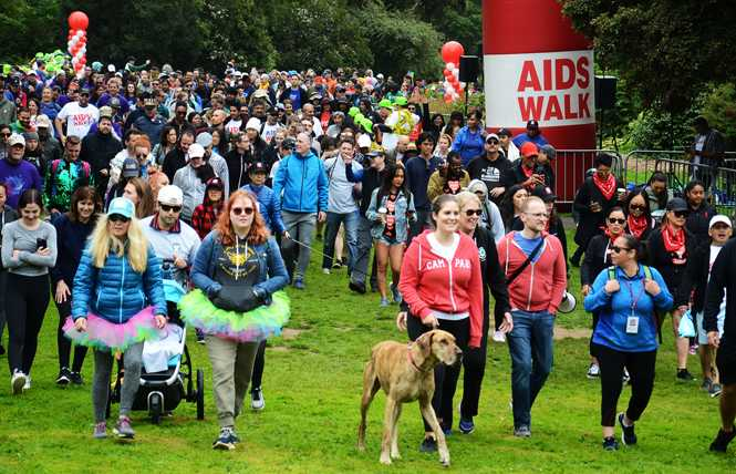 AIDS Walk draws crowd