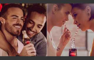Hungarians upset with gay Coke ad