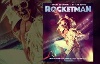 Elton John takes flight in 'Rocketman'