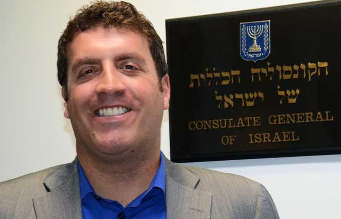 Israel sends gay diplomat to SF