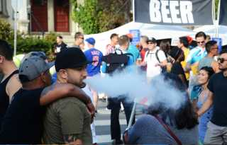 Vaping deaths, ballot fight spotlight LGBT nicotine use