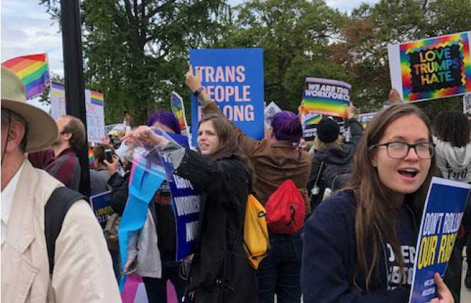 Online Extra: LGBT court watchers voice optimism during historic hearing
