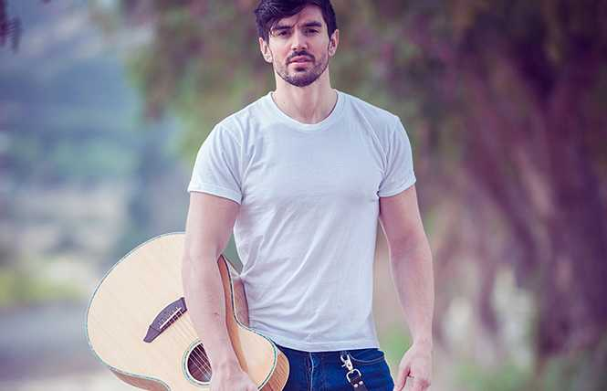 Steve Grand - hunky singer-songwriter plays Feinstein's