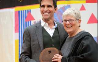 'Unsung hero' honored at AIDS grove