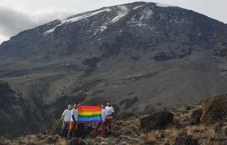 Gay activist scales Seven Summits for LGBT rights