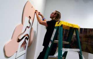 Trans district art installation opens