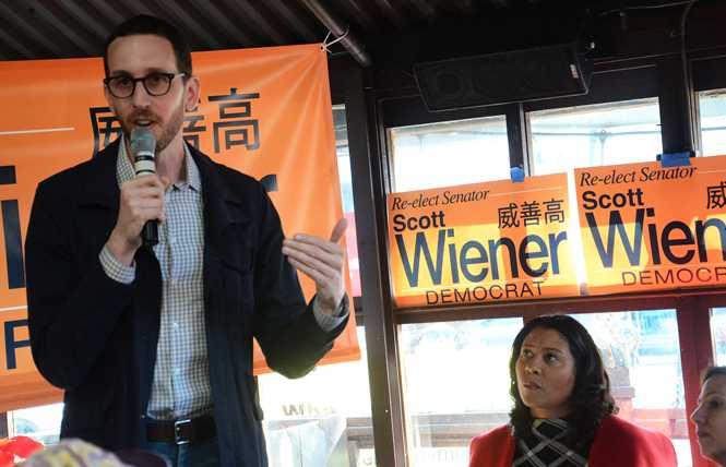 Editorial: Reelect Wiener to CA Senate