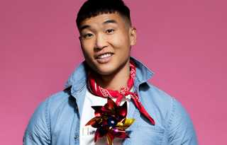 Joel Kim Booster - gay comic headlines Cobb's Comedy Club