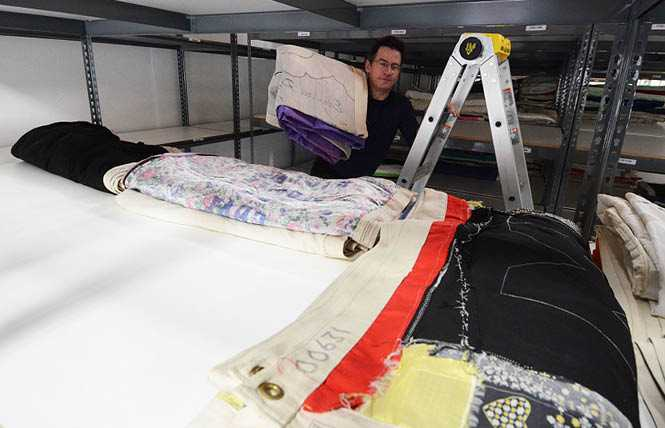 Online Extra: AIDS quilt begins to arrive in East Bay