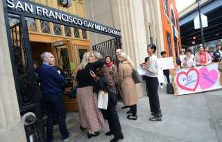 SF Buttigieg event protested