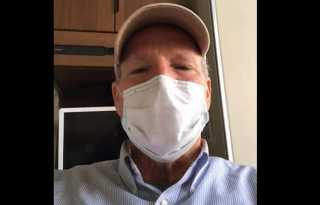 Televised images of pandemic fear