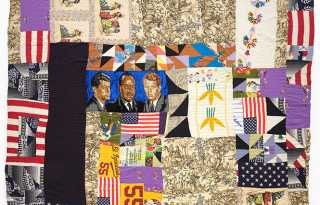 Quilting frenzy! Rosie Lee Tompkins at BAM
