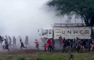 Kenya LGBT refugee protest ends with tear gas and batons