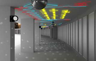 Artwork to add disco flair to Harvey Milk SFO terminal