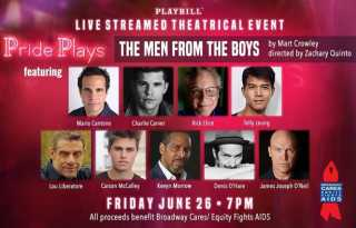 Pride Plays include reading of  'Boys in the Band' sequel & music variety show