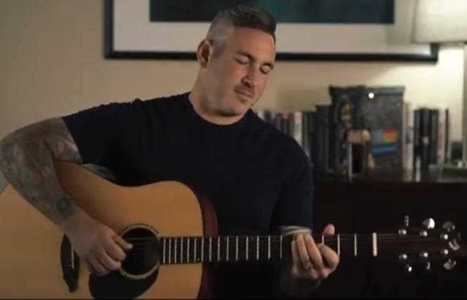 Eric Himan offers song tribute to the 'Local Gay Bookstore'