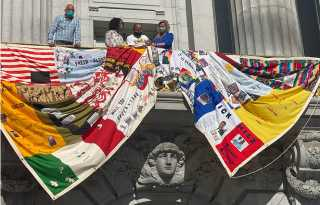 AIDS quilt goes virtual as new pandemic brings back memories