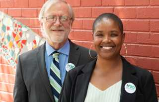 Political Notebook: Green Party, with bi VP candidate, fights to get on state ballots