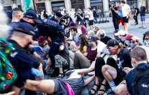 Warsaw police detain LGBTQ demonstrators in Poland