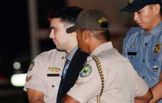 Philippine president pardons ex-US Marine in trans woman's killing