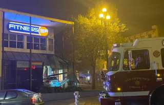 Car crashes into Castro's Fitness SF